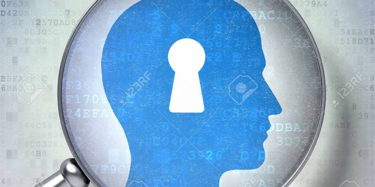 21514891-magnifying-optical-glass-with-head-with-keyhole-icon-on-digital-background-3d-render